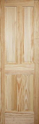 8 Panel Interior Wood Doors by Discount 8 0 Quot 4 Panel Pine Interior Wood Door Slab