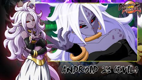 android mod android 21 evil fighterz skin mods