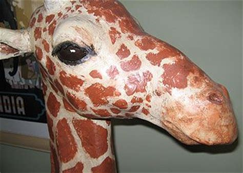 Make Animal Sculptures With Paper Mache Clay - how to make a paper mache giraffe ultimate paper mache