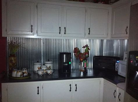 Metal Kitchen Backsplash Ideas 1000 Images About Corrugated Metal Tin Roofing On