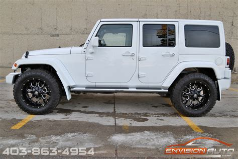 new jeep wrangler white 2015 jeep wrangler unlimited sahara 4 x 4 custom show