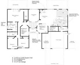 ranch floor plan skyline ranch homes floor plans