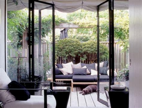 kübelpflanzen terrasse moderne terrasse idee