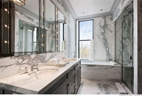 Most Expensive Bathroom Manhattan S Most Expensive Rental 165 000 A Month Master Bath 7 Cnnmoney