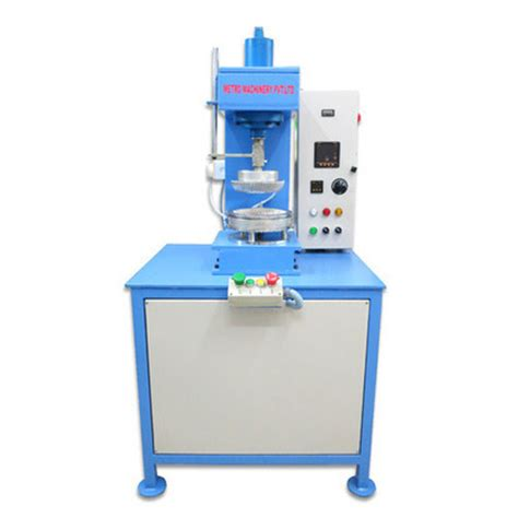 Cost Of Paper Plate Machine - hydraulic paper plate machine at rs 175000