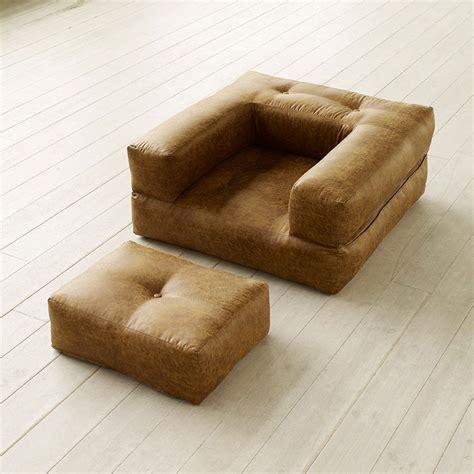 poltrona letto futon poltrona letto futon cube chair vintage karup great