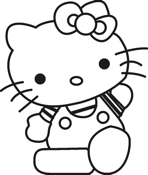 hello kitty large coloring pages free coloring page free large images diy crafts