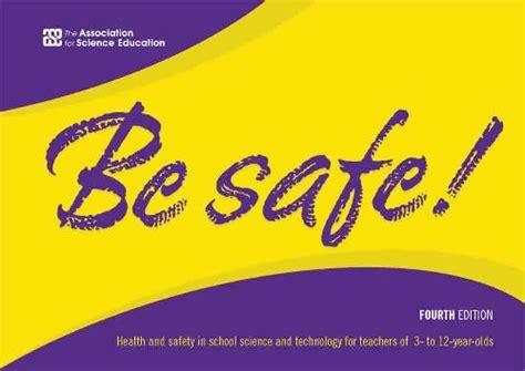 safe schoolsciencecouk