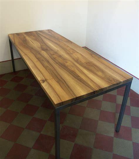 Tisch Metallgestell tisch nussbaum metallgestell schreinerei holzlabor bern