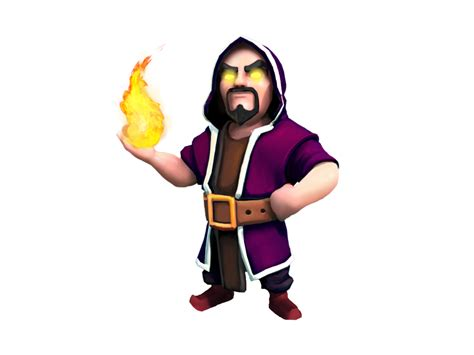 Clash Of Clans Wizard C003 coloriage clash of clan sorcier 224 imprimer et colorier