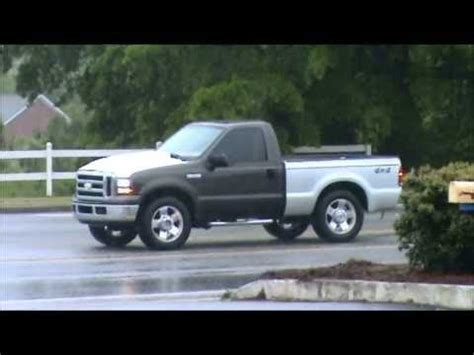 f250 bed f 250 regular cab short bed first test drive youtube