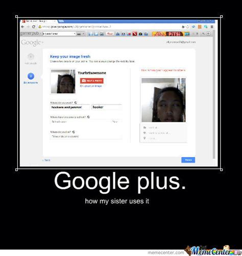 Meme Google Plus - google plus by allyssamae69 meme center