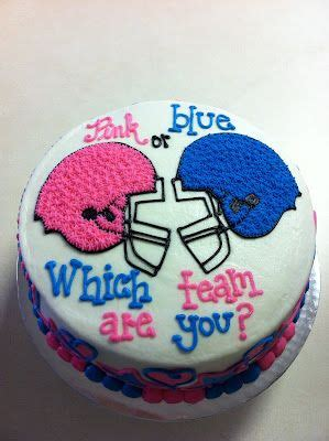 baby gender reveal cake idea      baseballs  gender reveal ideas