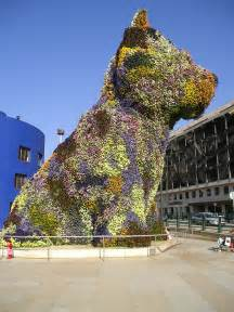 Rabbit Topiary - file bilbao jeff koons puppy jpg wikipedia