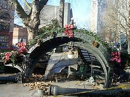 Pergola Seattle by Truck Accidentally Destroys Seattle S Historic Pioneer