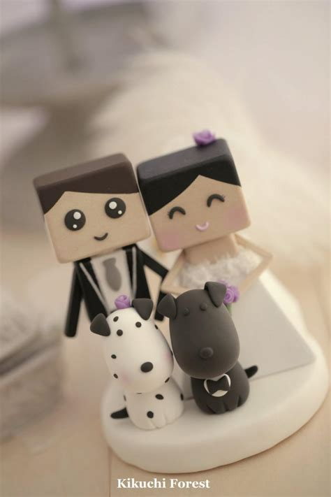 Handmade And Groom Cake Toppers - and groom wedding cake topper handmade handcrafted