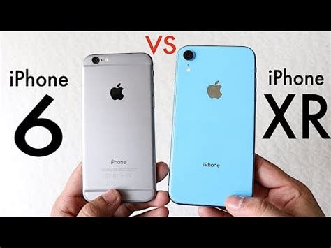iphone xr vs iphone 6 should you upgrade speed comparison review