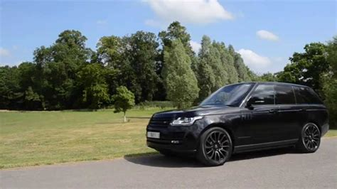 range rover autobiography rims range rover autobiography black pack youtube