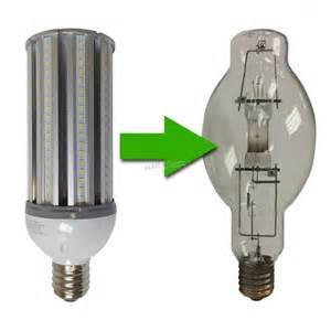 8 Fluorescent Light Fixture 120w Led Corn Light Replaces 400w Mh Hps Cfl Eledlights