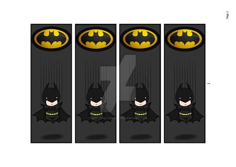 Printable Batman Bookmarks | 9 best images of cute printable bookmarks batman free