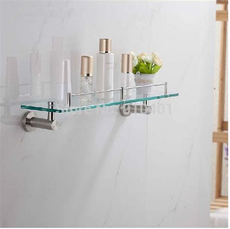 brushed nickel shelves bathrooms brushed nickel bathroom shelves with innovative innovation
