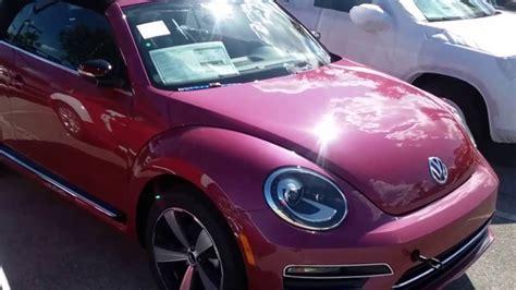 pink volkswagen beetle 2017 2017 volkswagen pink beetle convertible pinkbeetle