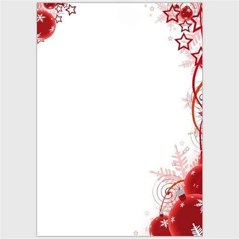 Kostenlose Vorlage Briefpapier Weihnachten 20 Kreative Vorschl 228 Ge F 252 R Thematisches Briefpapier Zu Weihnachten
