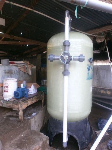 Filter Nico Penjernih Air instalasi nico filter di pabrik peternakan udang sidoarjo