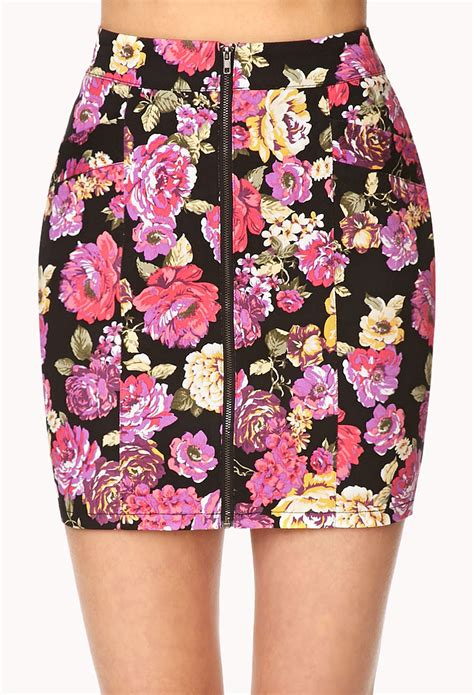 flower patterned mini skirt sandi pointe virtual library of collections