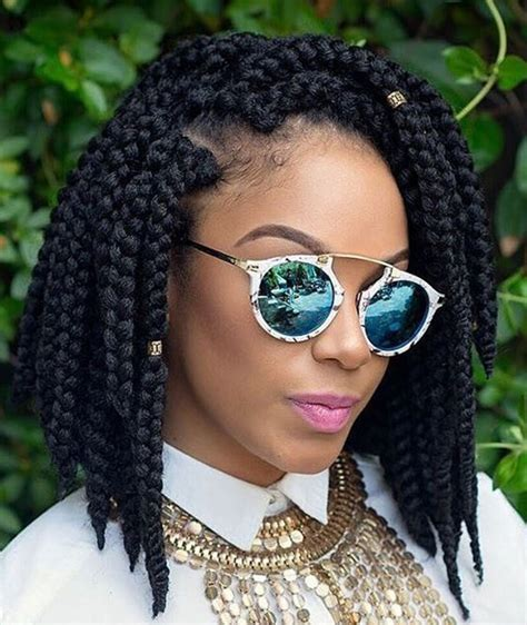 Hairstyles For Black Hair With Braids Bob by Crochet Braids 15 Twist Curly And Crochet