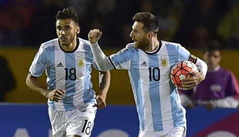 argentina vs argentina vs ecuador resumen partido resultado en