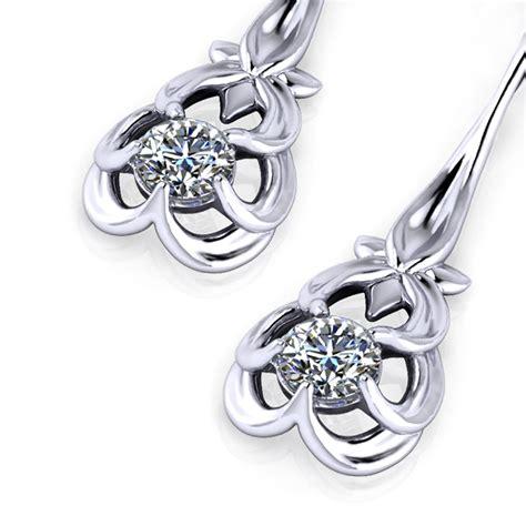 Floral Drop Earrings floral drop earrings jewelry designs