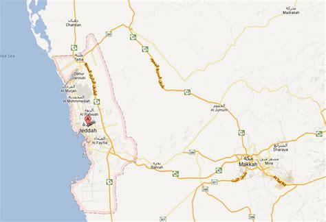 jidda map jidda map and jidda satellite image
