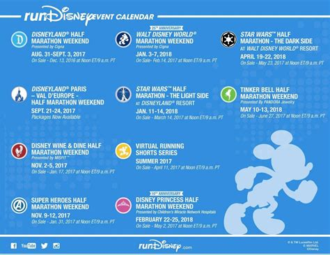 disneyland for families 2018 expert advice by for books rundisney 2017 2018 event calendar the disney