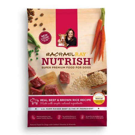 nutrish food rachael nutrish food beef and brown rice recipe 28 lbs walmart