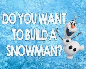 do you want to build a snowman 5x7 and 8x10 printable sign