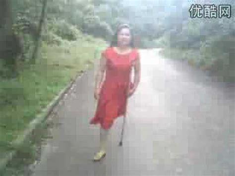 one leg one crutch