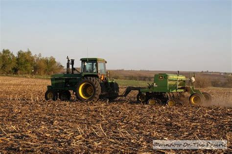 Planting Soybeans With Corn Planter by Planting Soybeans 171 Window On The Prairie