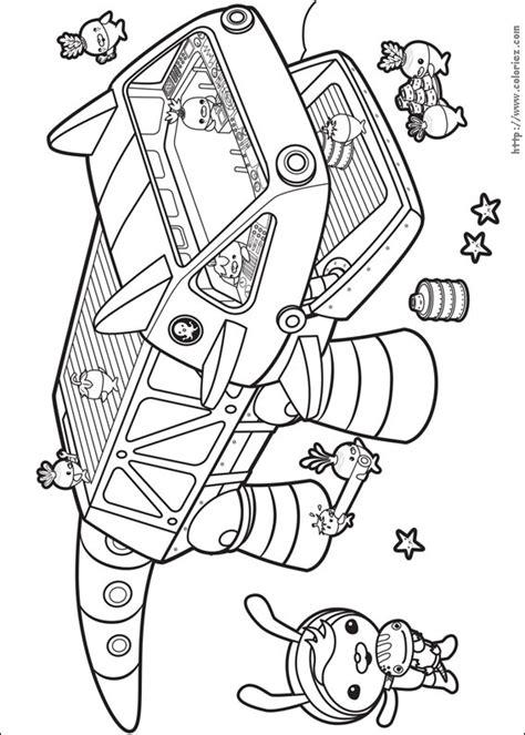 Gup C Coloring Page by Free Coloring Pages Of Octonauts Gup S