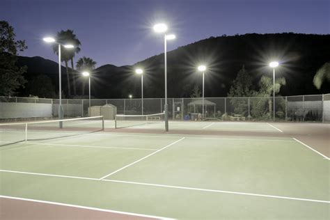 Basketball Courts With Lights by 250w High Power Industrial Led Lighting Fixture For Tennis
