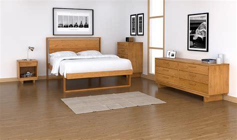 loft bedroom furniture  modern minimal set vermont woods studios