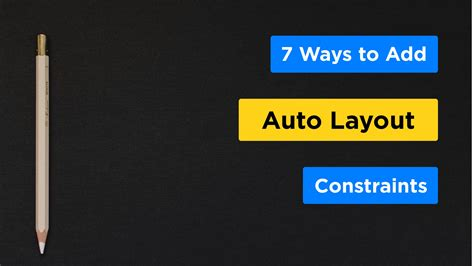 auto layout guide xcode 6 7 ways to add auto layout constraints using the storyboard