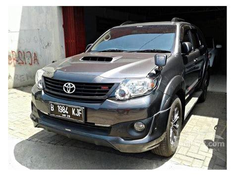 Toyota Fortuner 2 5 G Trd At 2015 jual mobil toyota fortuner 2015 g trd 2 5 di jawa barat
