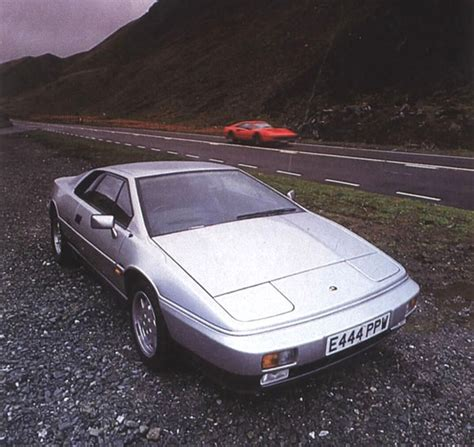 Lotus Esprit Turbo Problems Lotus Esprit Turbo Versus 328 Gtb
