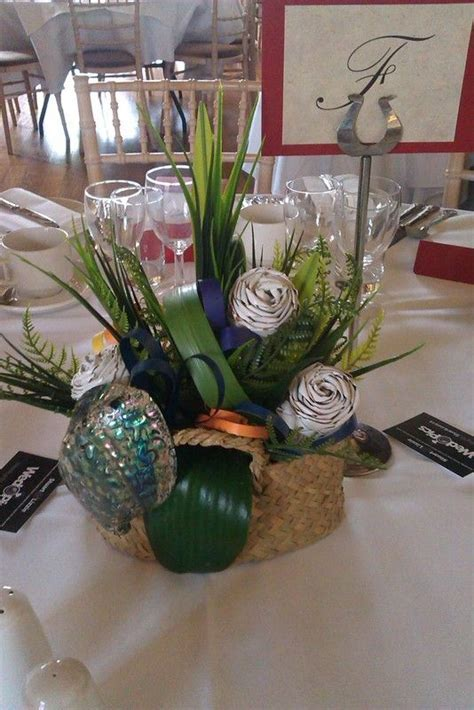 Wedding with a New Zealand theme fabulous shell   NZ ideas