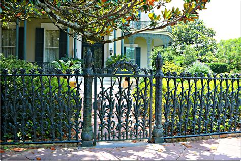 garden district in new orleans the wrought iron