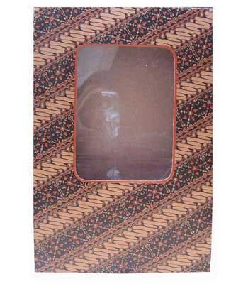Kotak Kado Gift Box Custom Gift Box Murah 20x20x5cm gift box 5 batik tas kertas arena tas kertas