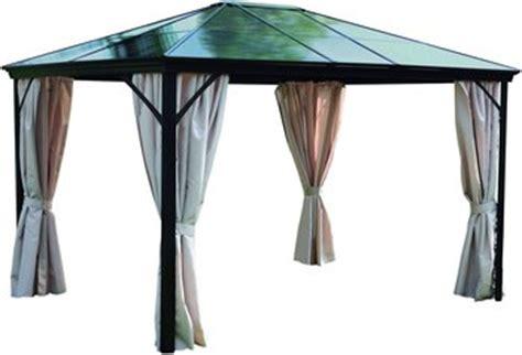 Pavillon Hardtop 3x4 by Leco Profi Pavillon 3 X 3 65 M Metall Pavillon Pavillon