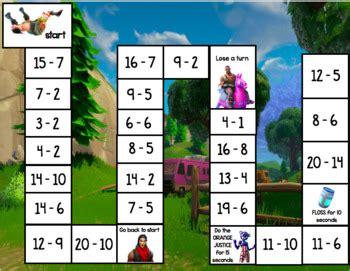 fortnite math game