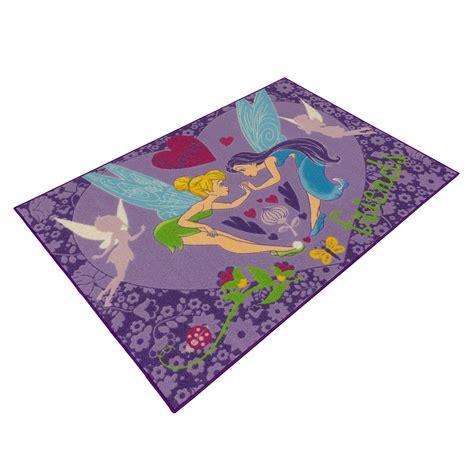 tinkerbell teppich kinderteppich disney tinkerbell lila m 228 dchen spielteppich